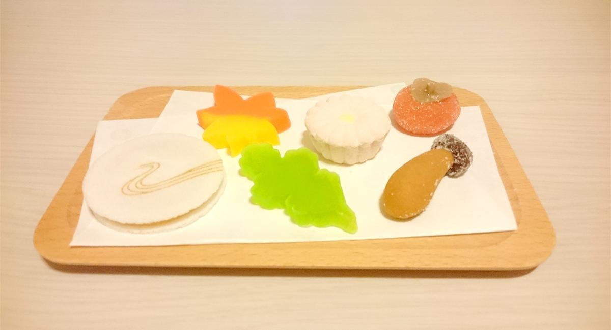 神保町の和菓子・さヽまの季節のお干菓子
