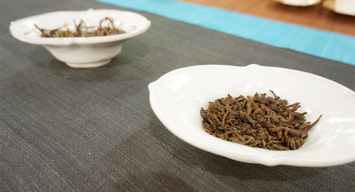 第12回 地球にやさしい中国茶交流会・茶葉