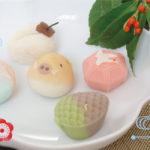 【年賀】2019年和菓子の年賀状/【金沢文庫】金沢さかくらのかわいいお茶菓子達♪