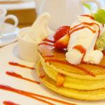 【横浜元町】行列のできるカフェの「新食感」春パンケーキ♪「パンケーキ リストランテ」