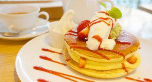 Pancake Ristorante(パンケーキ リストランテ)春のデザート「ブリュレパンケーキ」